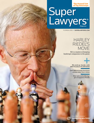 Harley E. Riedel Featured on Cover of the Annual Super Lawyer's Magazine - June 2018